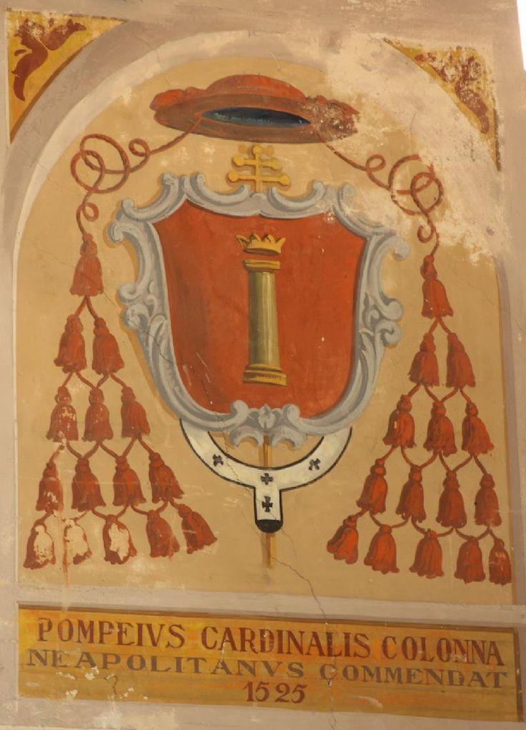 Stemma del Cardinale Pompeo Colonna