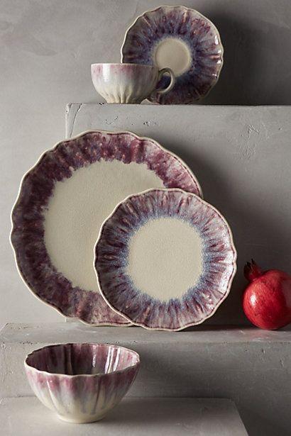 Smoke Rings Dinner Plates #AnthroRegistry #home