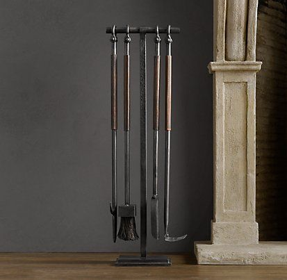 Tools Accessories Restoration Hardware Ideas For The House Pinterest Hearth