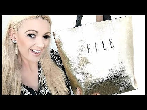 ELLE MAGAZINE AUSTRALIA SHOW BAG REVEAL! WHAT'S INSIDE MY SHOWBAG?