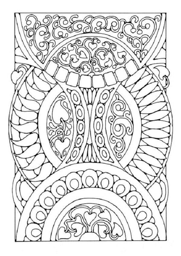 printable abstract coloring pages for adults best mandala coloring pages coloring pages trend - Coloring Book Pages Teenagers