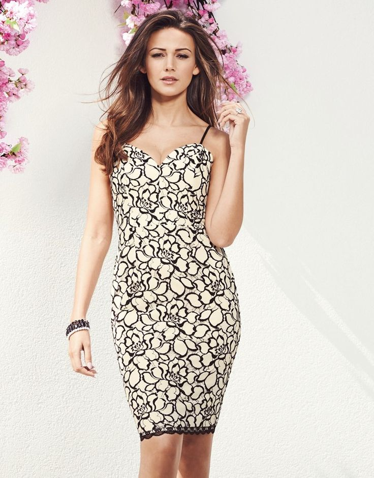 Michelle Keegan Lace Cami Dress #LIPSYSPRING