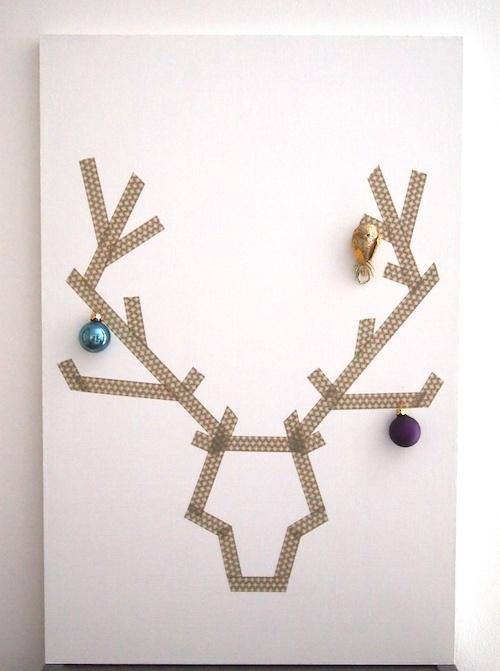 Creative Christmas decorating masking tape