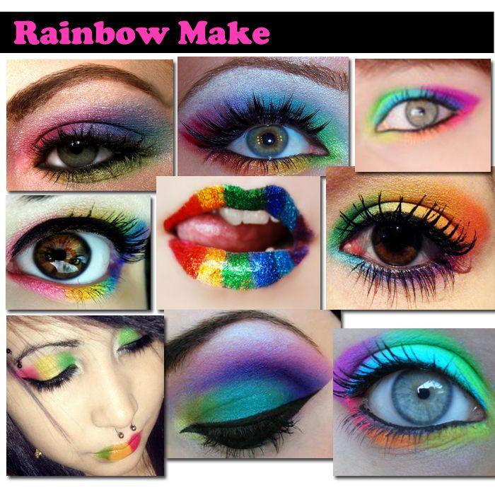 cabelo rainbow - Pesquisa Google