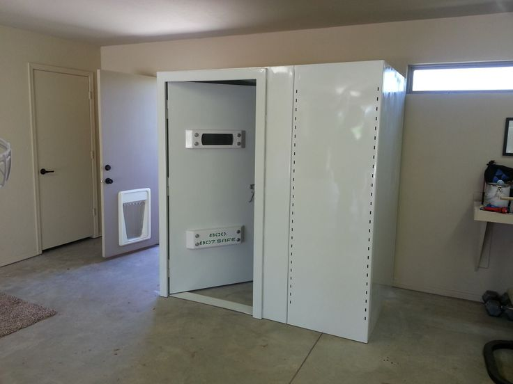 Shown Here Is An F5 Storm Shelters Above Ground Safe Room