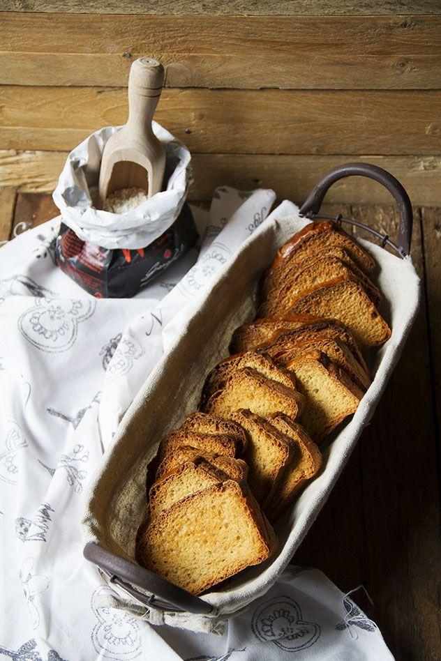 Fette biscottate con farina di farro blog Col Cavolo