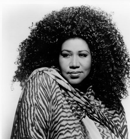 Aretha Franklin - the queen of soul.  Somehow from the outside looking in, it seems like women of color are better able to embrace their size and love their bodies.  Why can't we all get it together?