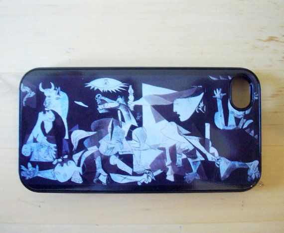 Pablo Picasso  Guernica iPhone 4/4S case by GelertDesign on Etsy, £7.00