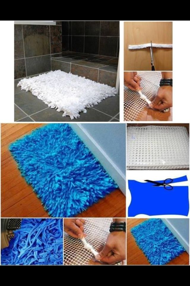 Diy Rug Could Use Jeans Old Shirts Definitely Would Make It Ger Though In Specific Rooms
