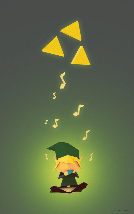 Ocarina of Time Art- Nathan's favorite. Can i get this in a poster please?