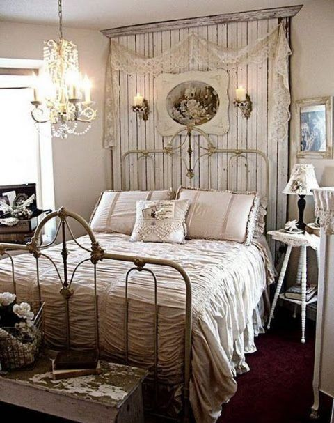 910 best Shabby Chic Bedrooms images on Pinterest   Beautiful ...
