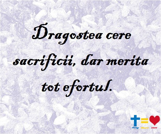 https://www.facebook.com/praysharelove/ Dragoste cere sacrifici #dragostea #praysharelove