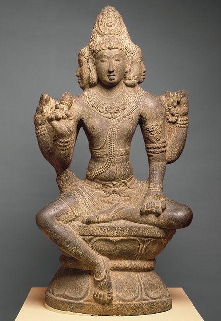 Brahma or Shiva as Sadashiva or Mahesha, ca 860-1279, Tamil Nadu, India.
