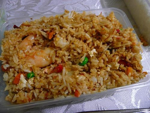 Riz frit, cuisine sino-mauricienne - Maurice