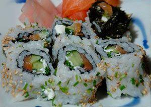 Рецепт суши-рола с копченым лососем