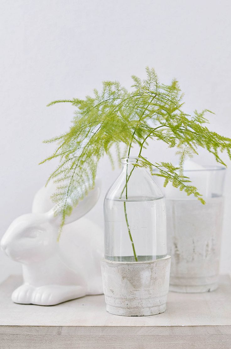 DIY Vasen aus Beton