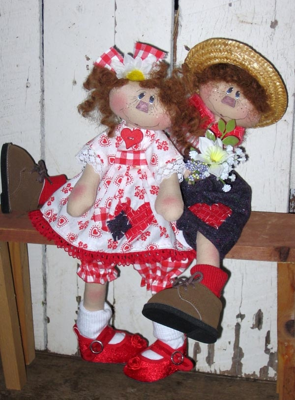 Sweetie Pie Twig cloth doll pattern $10.95 plus shipping. Call 865 428 5553