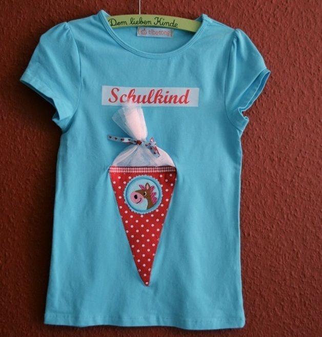 Schulkind-Shirt, Schulanfänger, Erstklässler