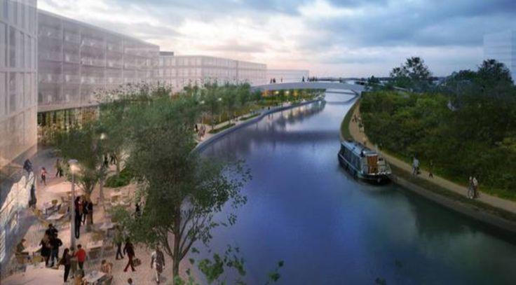 Masterplan revealed for Old Oak Park
