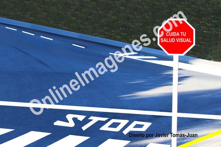 Compra imagen online para proporcionar consejos sobre la salud visual en carretera mediante estrategias de marketing de contenidos en páginas webs y redes sociales.