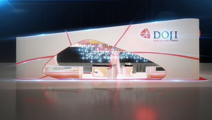 DOJI/ Exhibition booth . on Behance