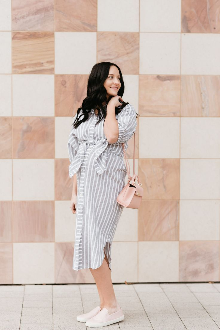 4f38bdcd08 Looking for a Striped Shirt Dress  Popular Las Vegas fashion blogger Outfits    Outings features the perfect one from Anthropologie.