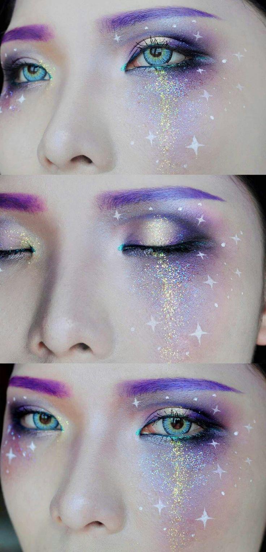 Galaxy makeup                                                       …