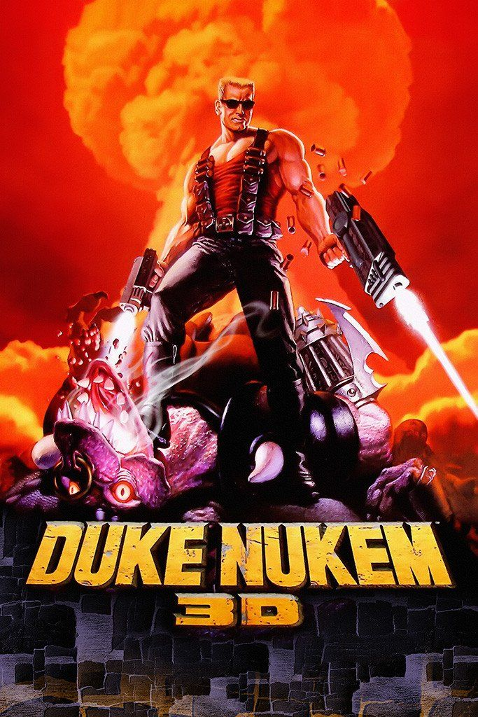 Duke Nukem 3D Old Classic Retro Game Poster | Video Games