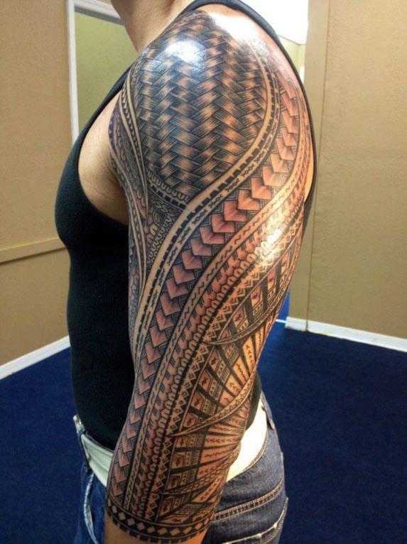 mens 3/4 polynesian tattoos | Great-Tattoo-Ideas-for-Men.jpg