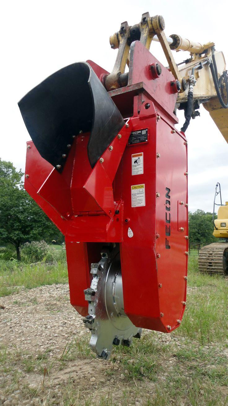 Fecon Introduces New Excavator Powered Stump Grinder