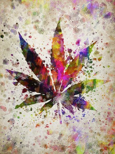 Nice colourful ganja poster  Repinned by Fun Weed Pics @funweedpics