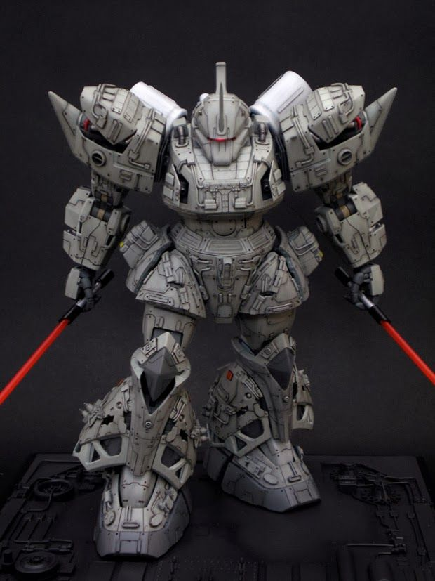 GUNDAM GUY: MG 1/100 MS-14A Gelgoog - Customized Build