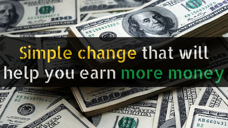 If you want to earn more #money this simple change can help (it doesn't matter what kind of #business you want to build): http://brandonline.michaelkidzinski.ws/simple-change-that-will-help-you-earn-more-money/