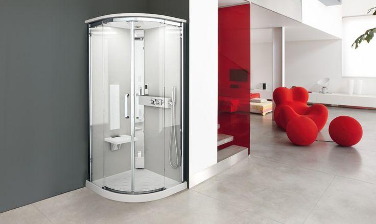 Con le porte doccia scorrevoli Novellini praticità e design nel bagno, scopriamole qui!