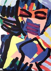 Masked Personage by Karel Appel