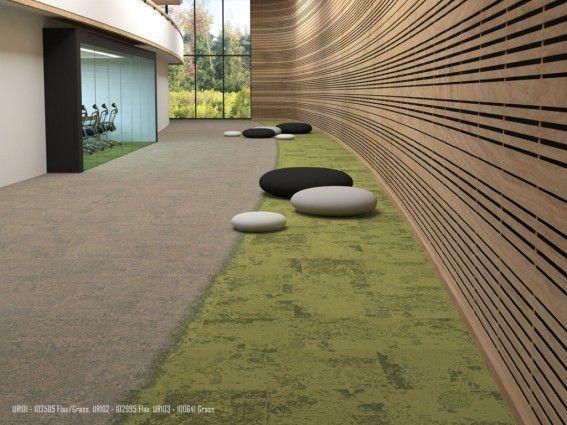 Urban retreat carpet tiles david oakey biophilic design for Grass carpet tiles