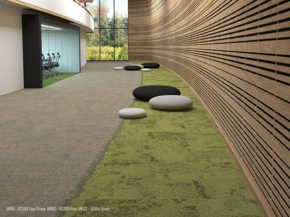 Urban Retreat One Carpet Tile Flax Grass Carpets And