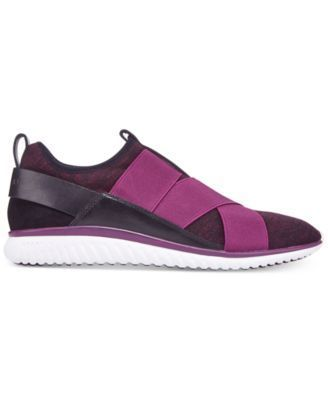 Cole Haan Women's Studiogrand Knit Trainers - Purple 10.5M