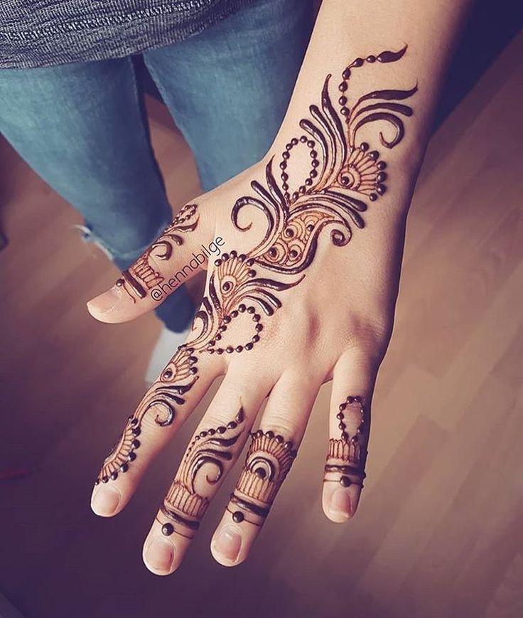 "2,571 Likes, 6 Comments - Henna Designs / Photography (@hennalookbookin) on Instagram: ""The Simpliest, Henna @hennabilge"""