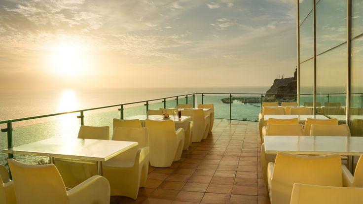 Mogan Princess & Beach Club Resort **** - #princesshotels #canarias #resort #gran #canaria #family #kids #all #inclusive #valle #taurito #terrace #bar #sunset