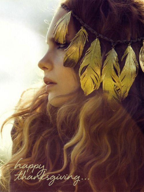 Gypsy headpiece and hair