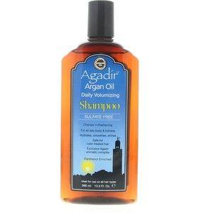Gezien op beslist.nl: Agadir Volumizing Argan Oil Daily Volumizing Shampoo Fijn Haar 366ml