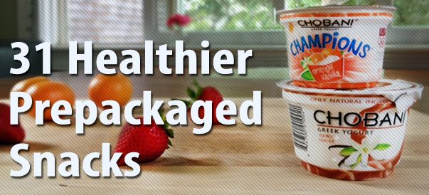 31 Healthier Prepackaged Snacks — one for each day of the month!31 Healthy, Healthier Prepackaged, Healthy Snacks, 31 Healthier, Pre Packaging Snacks, Snacks Ideas, Healthy 150 Calorie Snacks, Healthier Pre Packaging, Prepackaged Snacks