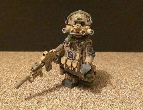 Seal Team 6 Custom Minifigure | Custom LEGO Minifigures