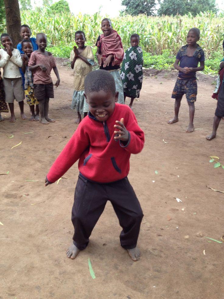 Nothing better than children dancing. :)