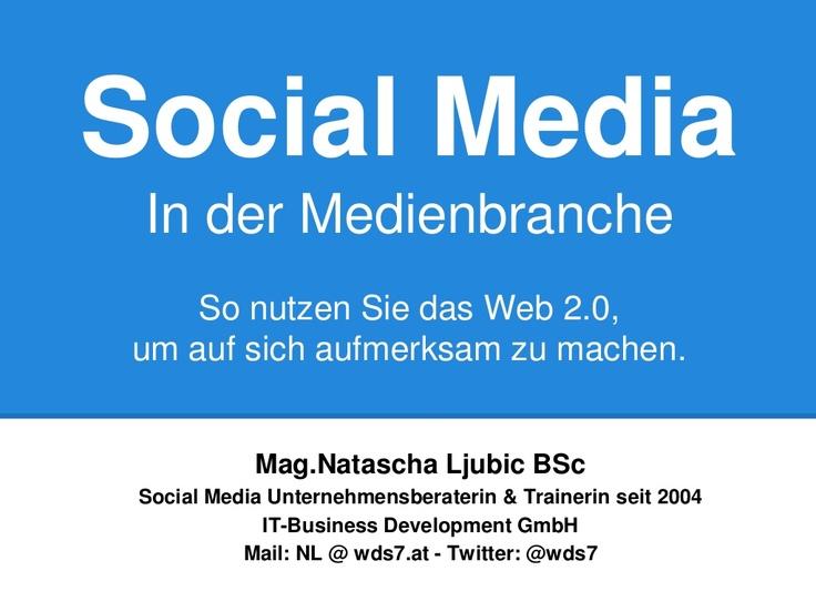 #SocialMedia für die #Medienbranche in #Wien ein #Seminar