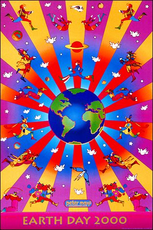 peter max - how can anyone not love Peter Max. No matter how sad or depressed you get... looking at Peter Max stuff will make you happy!