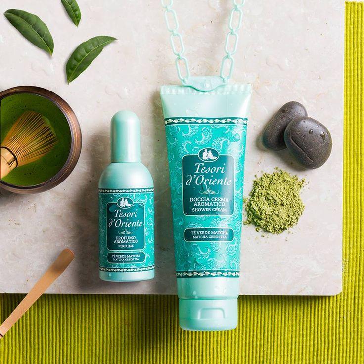 Tesori d'Oriente - Matcha Green Tea - shower cream