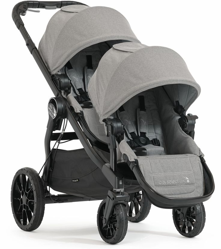 Baby Jogger City Select LUX Double Stroller 2020 in Slate