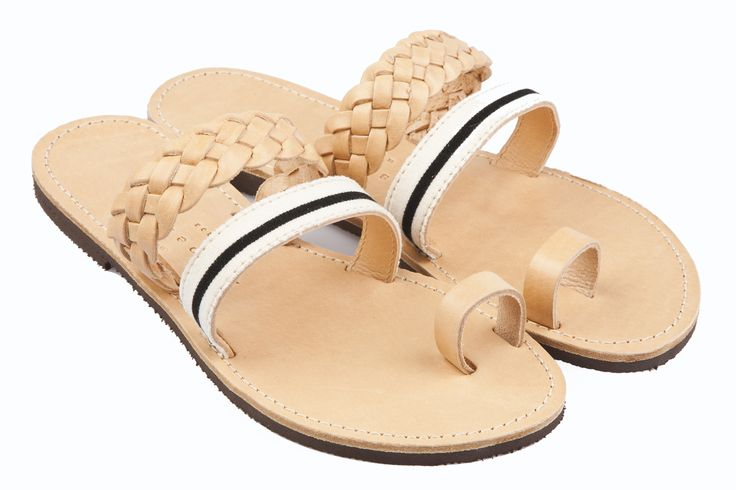 Isapera sandals : Kalafatis in Stripes